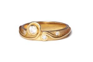 Fern engagement ring