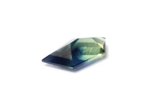 Geo cut Australian sapphire