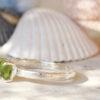 green tourmaline ring